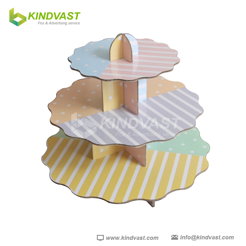 Disposable Paper Cupcake Stand for Party