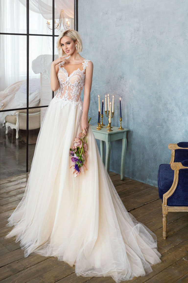 Simple Elegant Wedding Dress 2018