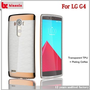 Biaoxin gorgeous and promotions light up phone case for lg g2
