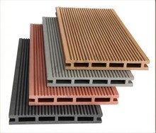 Classic design Co-extruded saning moulded wpc decking outdoor