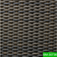 100% New Material Artificial Plastic Rattan For Patio Table