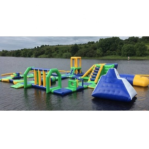 Bouncia UK Inflatable Water Park Games Design Build / Inflatable Water Floating Playground