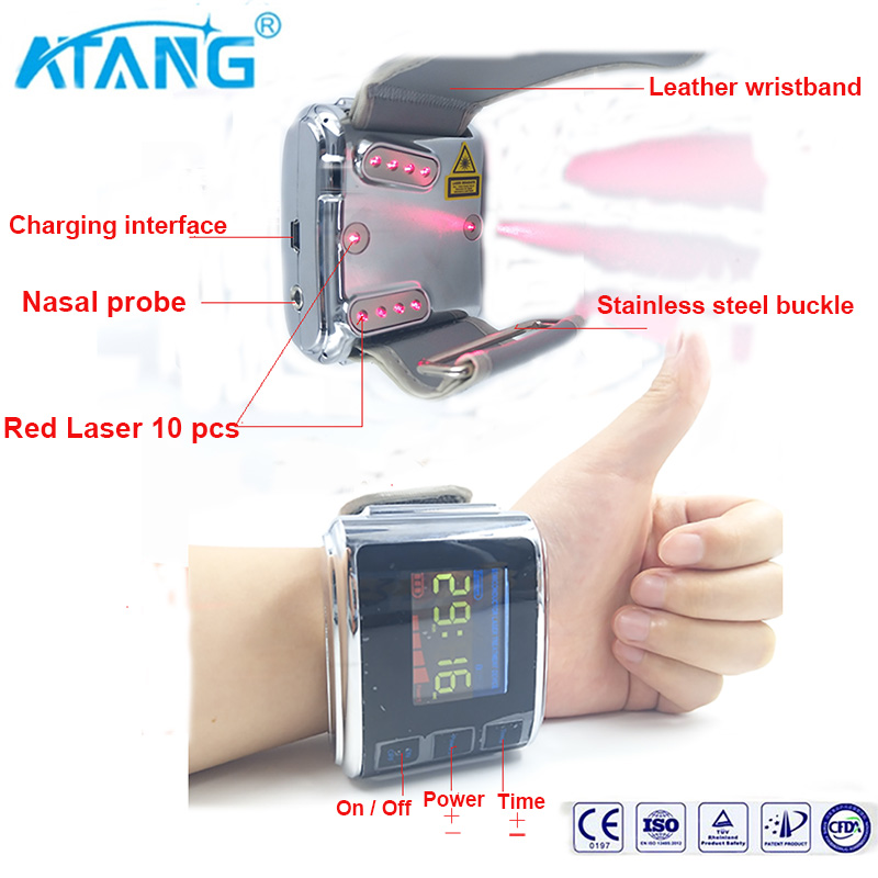 Automatic Health/ Medical of Pulse Electronic Laser Acupuncture for hypertention/cardio diseases/hight cholesterol/diabetes