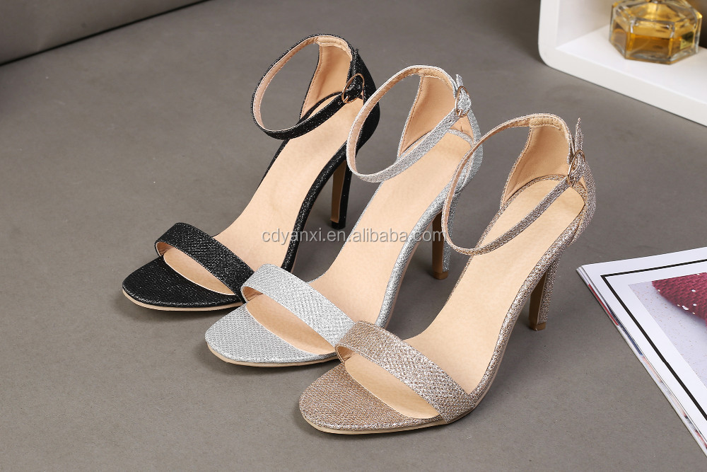 dda9afab44bf Custom Low Price Women Ladies Summer Fancy High Heel Sandals Shoes Girls  Fashionable Sandals
