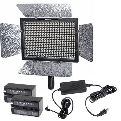 Yongnuo YN-600 YN600 LED Video Light 3200k-5500k Color Temperature Adjustable with 600 LED for Canon Nikon