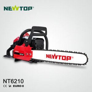 Powerful 61.5cc Gasoline Chain Saw Petrol Heavy Duty Chainsaw hus61 with CE Eu2 Certificates