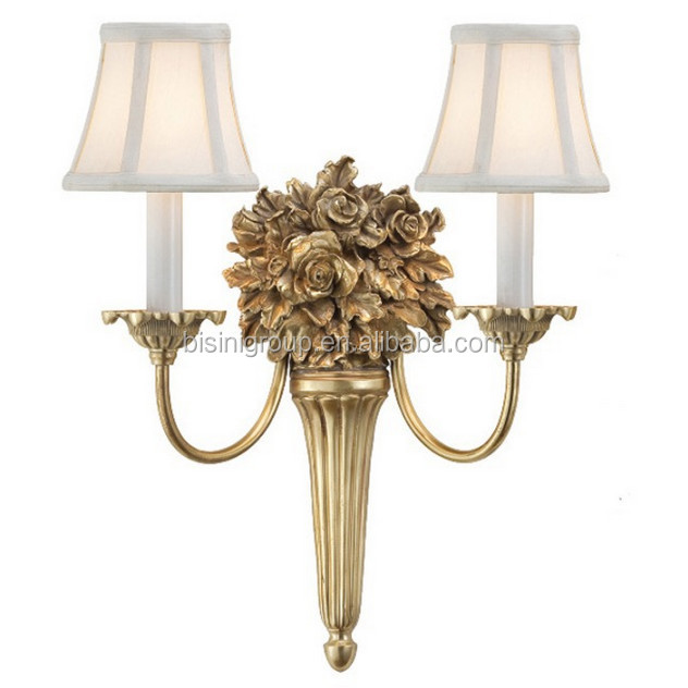 Antique graceful solid brass roses wall lamp with lamp shade for antique graceful solid brass roses wall lamp with lamp shade for noble house bf11 06291d aloadofball Gallery