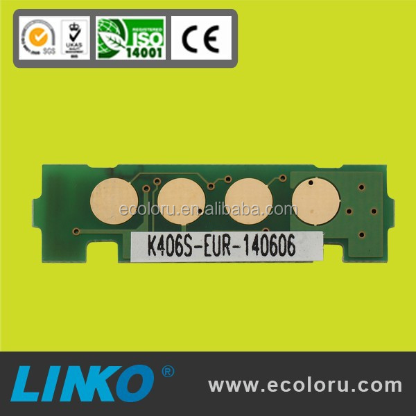 import from China,best selling reset Chip CLT-Y406S be used for Compatible for Samsung Laser Printer