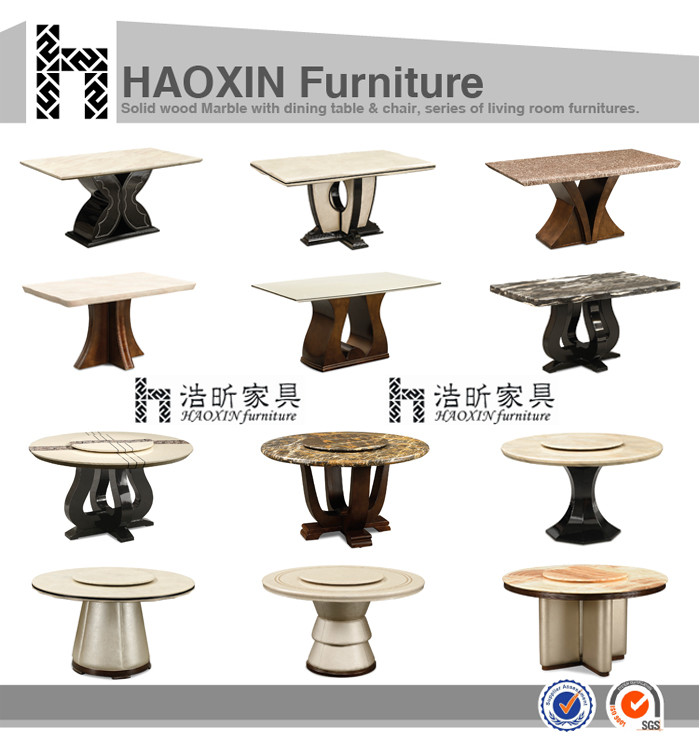Dubai Hot Sell Marble Dining TablesRestaurant Furniture