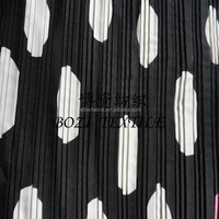 printed polyester satin drape fabric for making dress