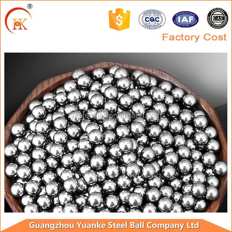 2015Hot -sale Shandong lead manufacturer G100 6.35 Stainless steel ball