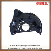 CNC Die Casting Parts with Black Painting