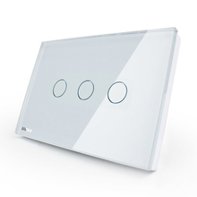 1Gang Smart Wifi rf / App /glass Touch Control Wall Light remote control switch