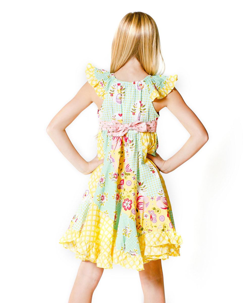 1165b93790aa Cotton Long Summer Dresses Pretty Little Girl Dresses Remake For ...
