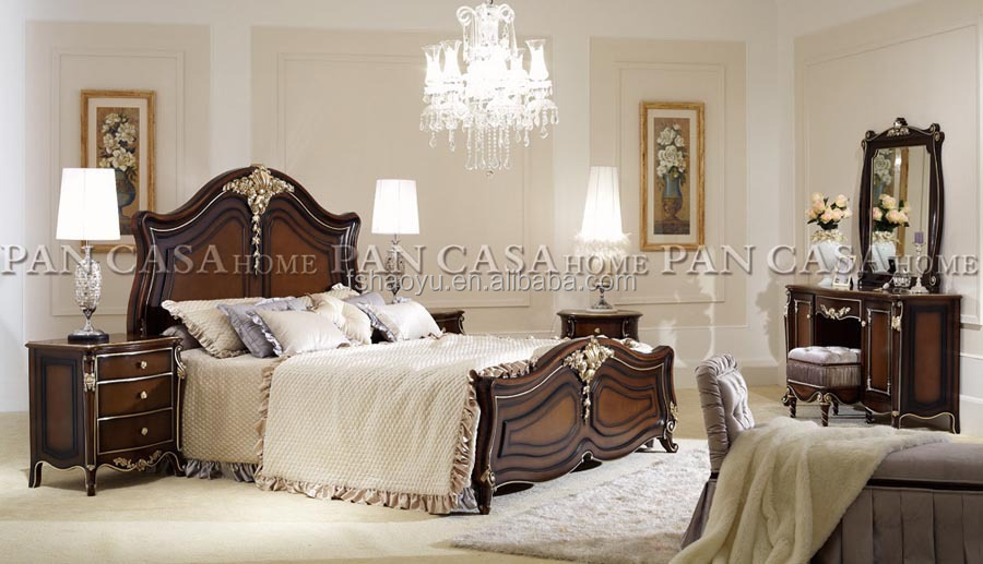 Delightful Royal Style Bed/spanish Style Beds/french Provincial Bedroom Furniture Bed