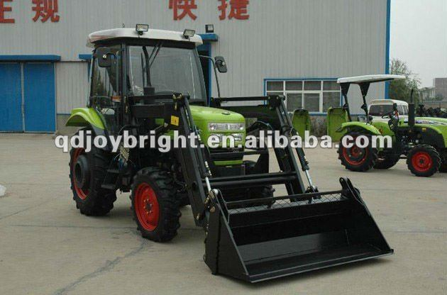 50hp loader tractor,12F+4R shift,Double disc clutch,hydraulic steering,3point linkage,traction system,quick hitch