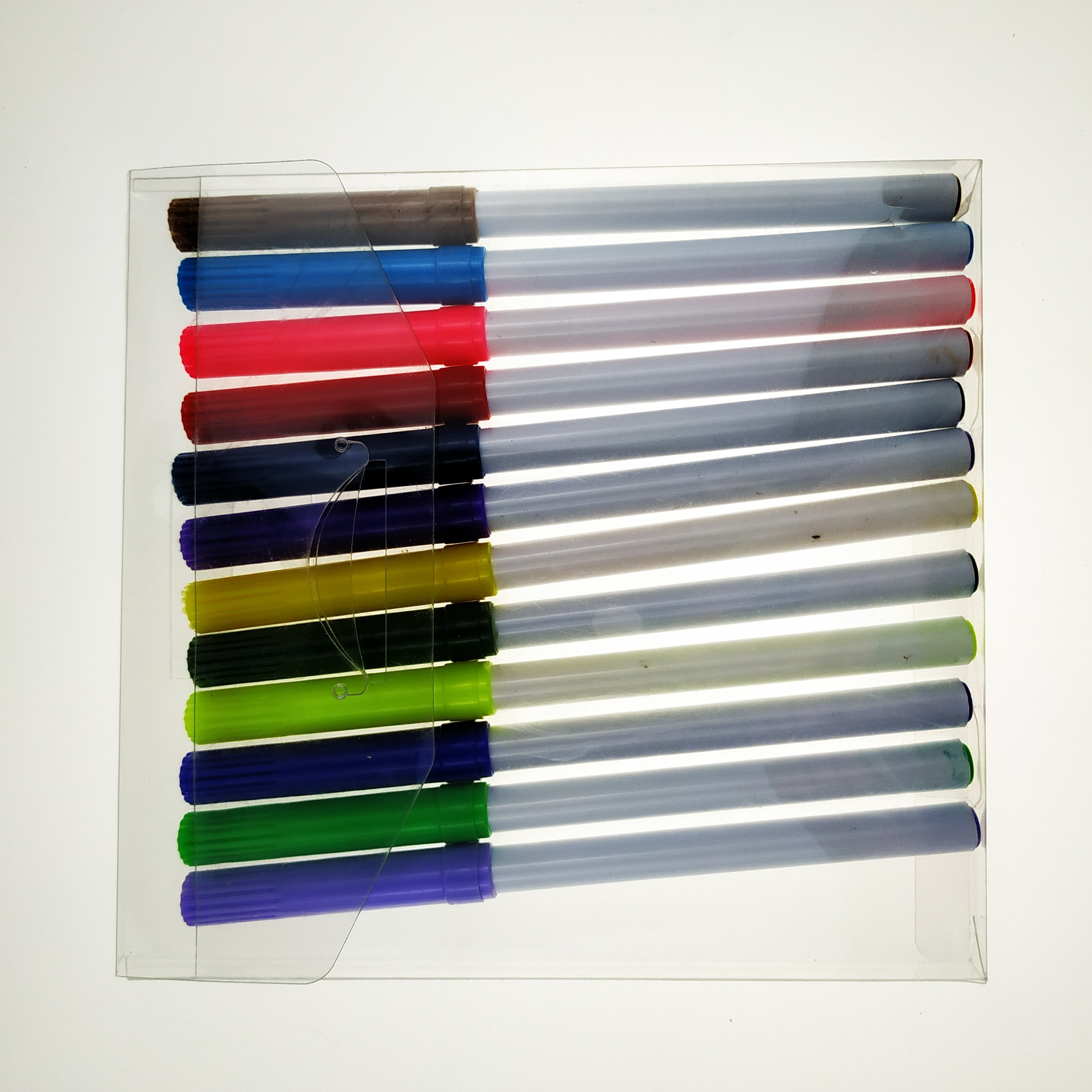 New model multicolor roller watercolor marker set for stationery or gift