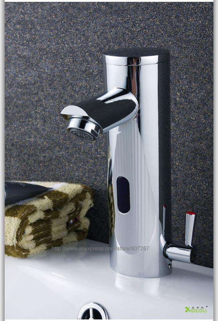 Exceptionnel Hot Cold Mixer Automatic Sensor Faucet Bathroom Sink Tap Cheap Automatic  Shower Sensors Smart Sensor Faucet