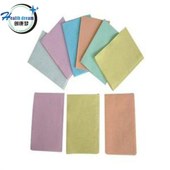 medical disposables product high folding towel good quality ce approved 3 ply waterproof