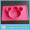 New design FDA Monkey shape silicone baby placemat with high quality