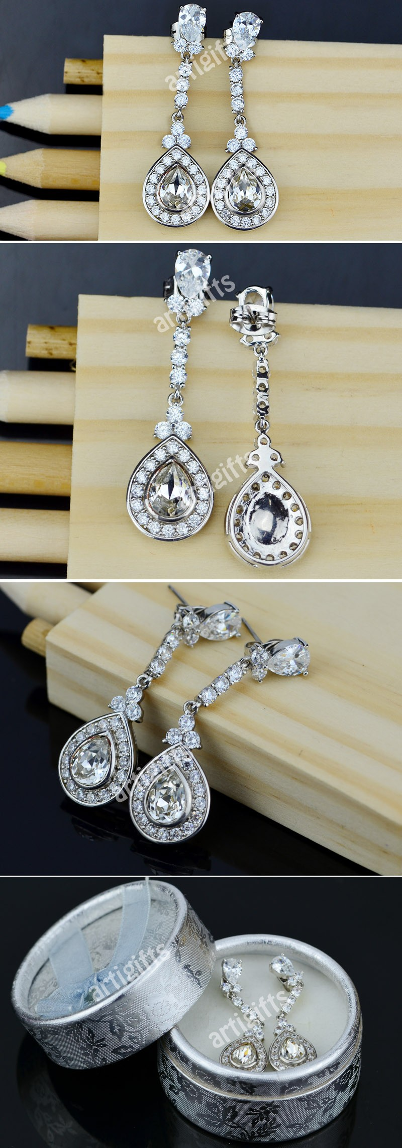 Fashion jewelry cheap chinese bulk wholesale earrings