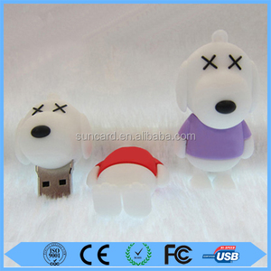 Snoopy USB Flash Drive / Dog shaped USB Flash Drive / Animal shaped USB Flash Drive