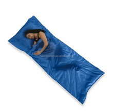 Cost-effective envelope polyester sleep bag for camping