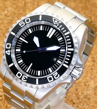 Luxury Brand Stainless Steel Mens Watches 30atm Waterproof Diver
