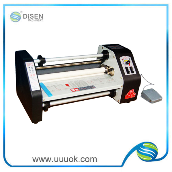 High precision pvc card laminator