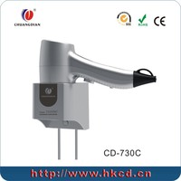 safety wall mounted hot and cold air hair dryer
