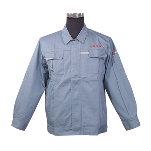 anti pilling manufacturers blue wear safety workwear uniform