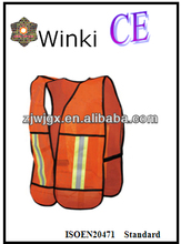 Cheap Mexico Safety Gilet by mesh fabric