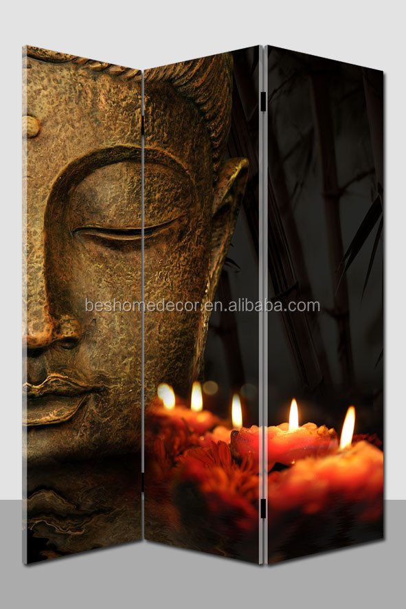 Light Up Wall Art hot selling light up wall art buddha canvas room divider - buy