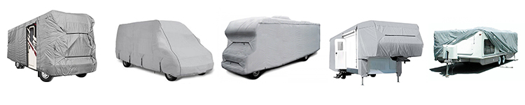 RV covers travel trailer 15'-37' breathable and water repellant motorhome roof cover