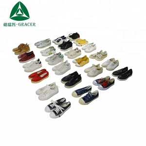 Bulk Wholesale Bales 25Kg Sport Shoes Cheap Recycling Used Shoes