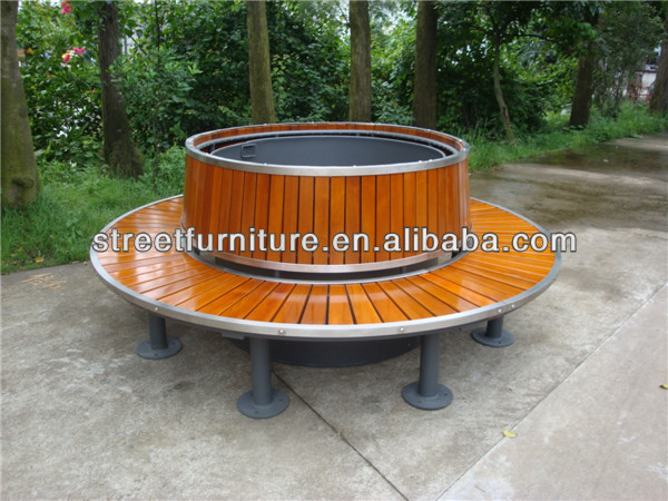Super Outdoor Round Wooden Bench Furniture Seating With Stainless Steel Frame Buy Round Wooden Bench Round Outdoor Bench Round Bench Furniture Seating Cjindustries Chair Design For Home Cjindustriesco