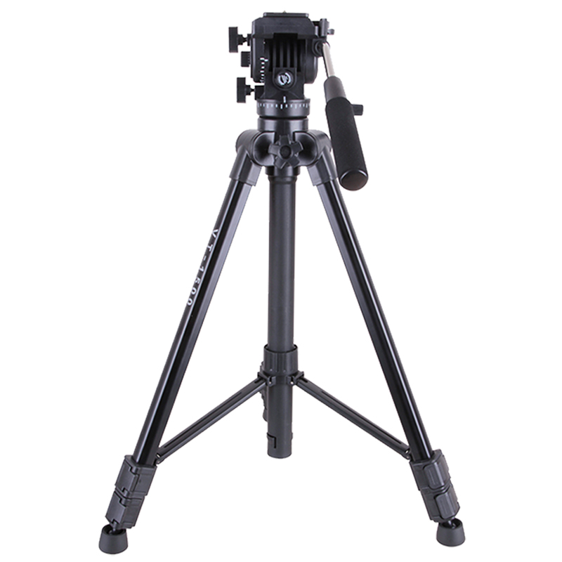Kingjoy VT-1500 fluid head tripod professional outdoor with quick release plate for travel photography