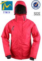 Hangzhou tymin outdoor factory womens gym wear hoodie snow ski speed skate clothing