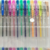 Gel Pen Set 6/10/12/24/30/48/50/100 Colors Marker Adult Drawing Glitter/Fashionable 24 Colors of 11cm Transparent S