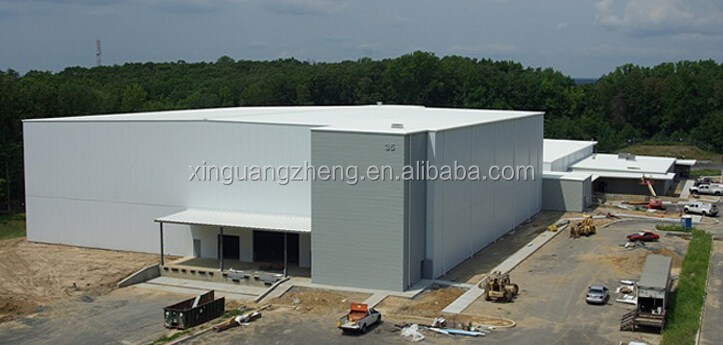 portal-framed prefabricated steel building