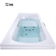 Outward open style plastic elderly walk-in bath tubs massage 2 person hot spa bathing tubs