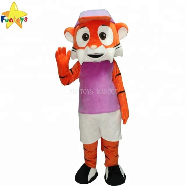 Funtoys CE funny tiger mascot costume commercial