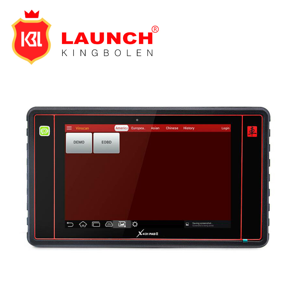 2017 New LAUNCH Scanner X431 PAD II Full Systems Auto Diagnostic Tool X-431 PADII with Wifi/ Bluetooth Update Free Online
