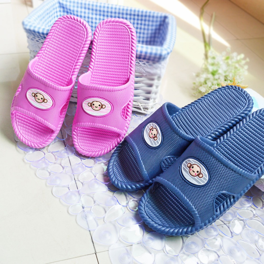 Men and women skidding thick bottom lovers at home bathroom slippers wholesale