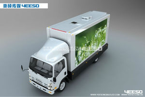 YEESO Movie/Vedio/TV Car, Outdoor Advertising Mobile LED Screen Truck YES-V8 For Outdoor Advertising, Media, Shows, Events