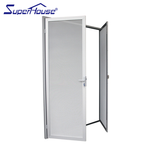 White Frosted Gl Interior Doors Air Double Leaf Fixed Door