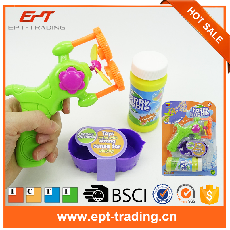 Wholesale shantoy toys kids soap bubble water gun toy for sale