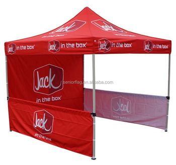 business corporate event branding folding gazobe 3x3m 10x10 pop up tent
