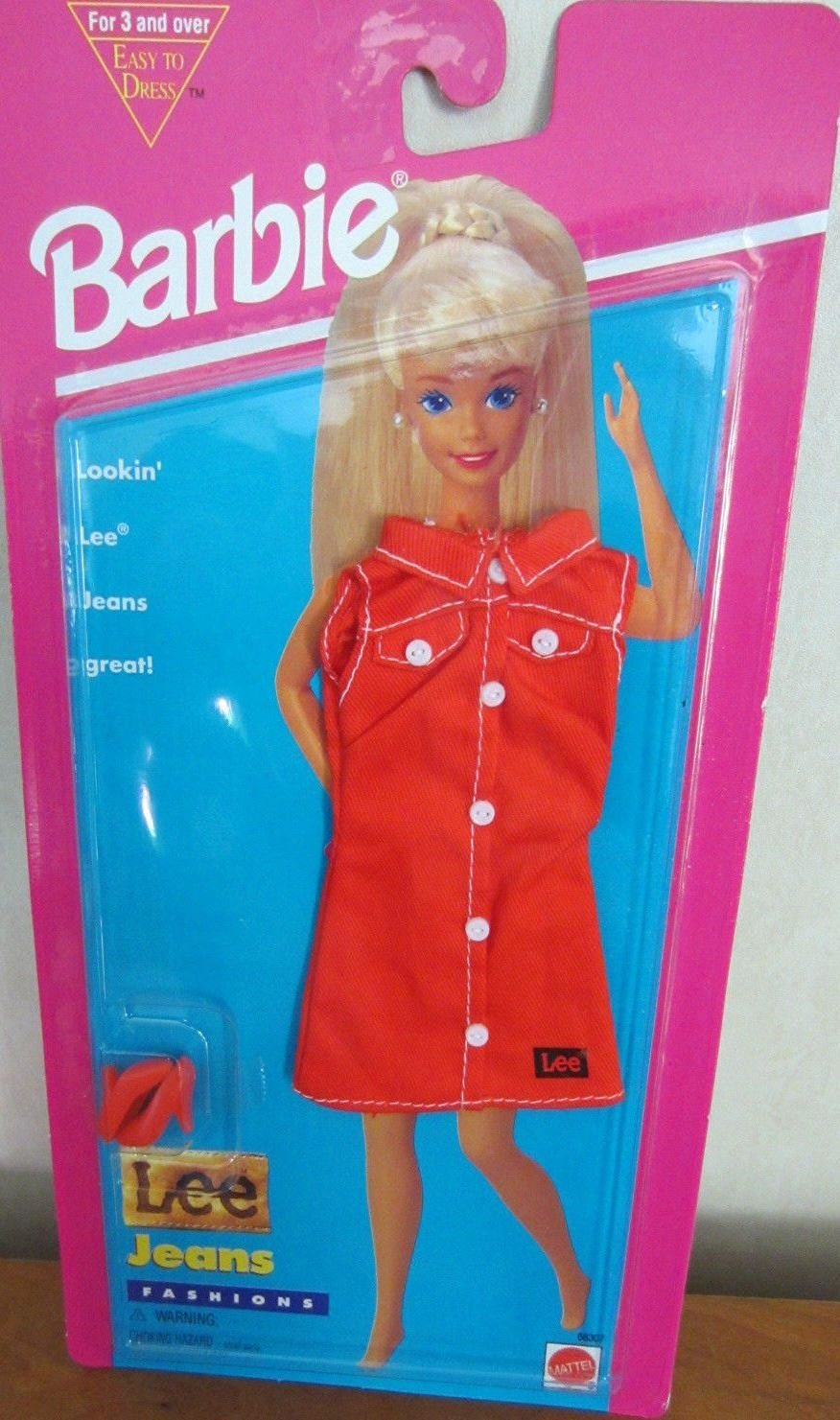 Barbie LEE Jeans Fashions - Easy To Dress (1995 Arcotoys, Mattel)