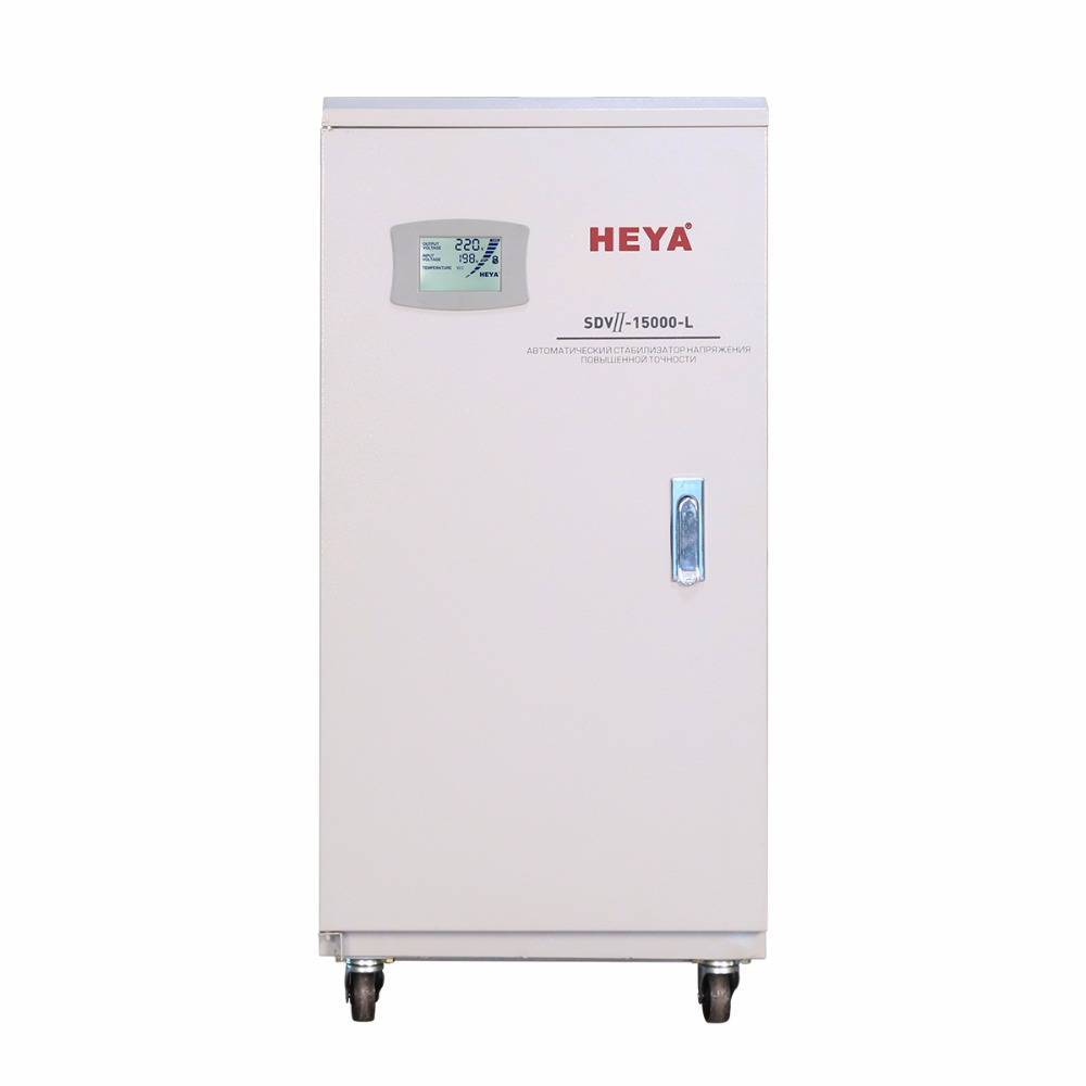 Super Ultra Low Voltage 10KVA/12KVA/15KVA/25KVA Servo Motor Single Phase LCD Display AC Automatic Voltage Regulator/Stabilizer